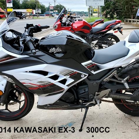 2014 Kawasaki Ninja  EX-3     300cc   (0733)
