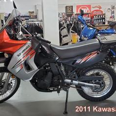 2011 Kawasaki KLR 650.