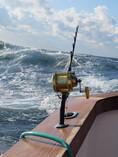 Windy weather and sloppy seas were frequ