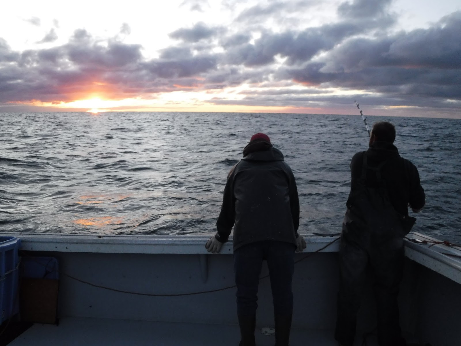 Capt Dennis and his nephew Troy Cameron battle a bluefin