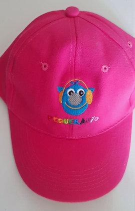 Gorra de Antenita Bordada Fucsia