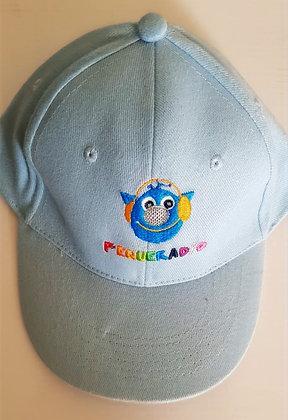 Gorra de Antenita Bordada Azul