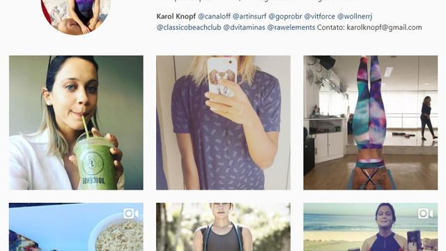 Apresentadora Karol Knopf