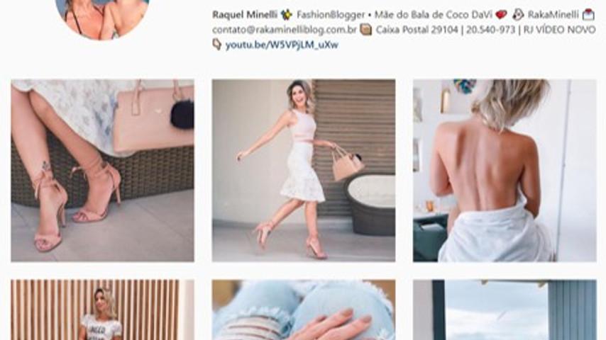 Blogueira Raka Minelli