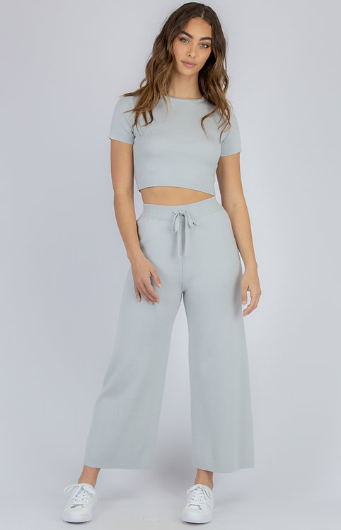 Knit Pant Lounge Set