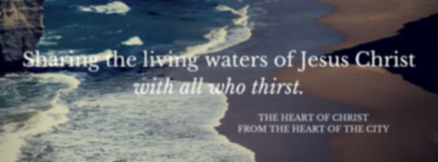 Sharing the living waters of Jesus Chris