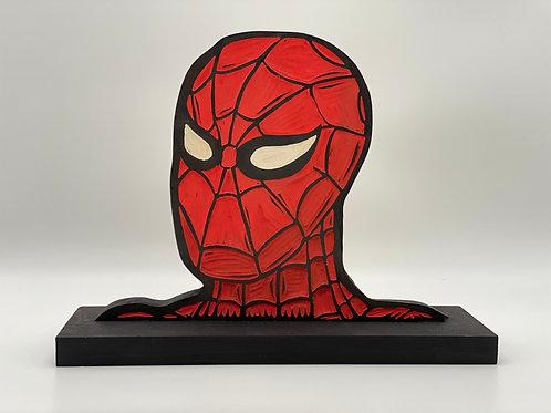 Spider-Man Woodcut