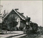 The historic train tracks have had their share of tragedy and may have contributed to the haunting activity plaguing the village.