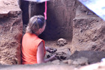 Bones have been recently unearthed in one of Cincinnati's most popular gathering places.