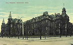 The Commercial Hospital and Lunatic Asylum contributed to the graveyard beneath Music Hall.