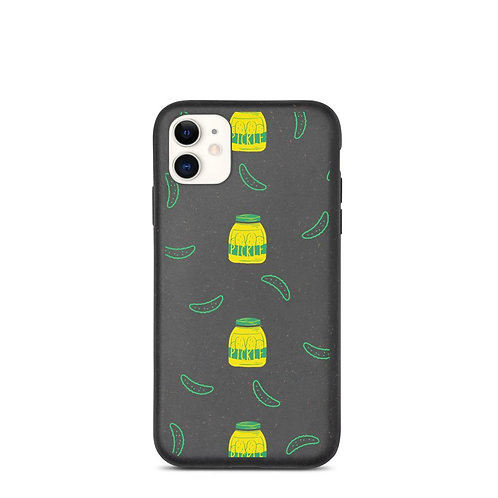 Biodegradable Pickle iPhone Case