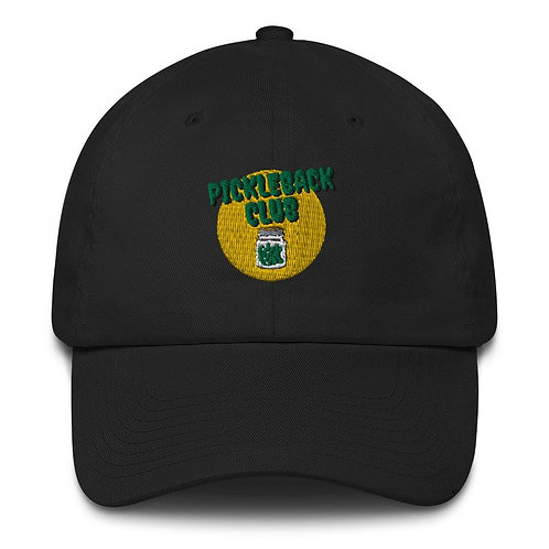 Pickleback Club Puffed Embroidery Cap
