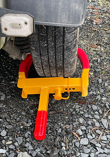 Wheel Clamp back