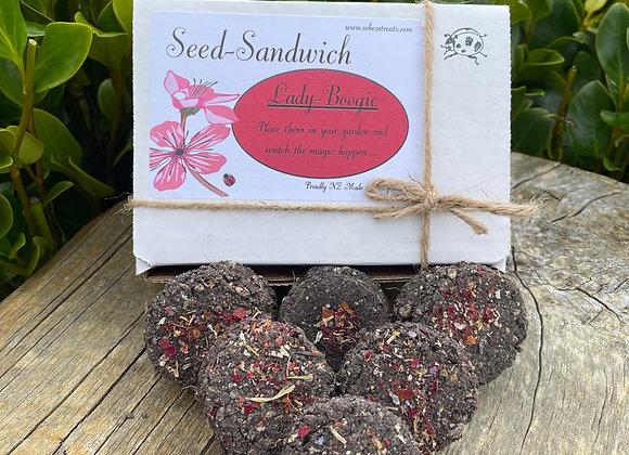 Seed Sandwich Lady-Boogie