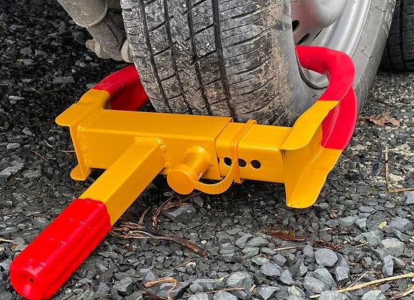 Anti-theft Wheel Clamp