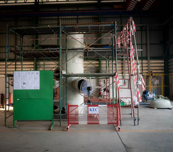 งานถอด | ประกอบ | ซ่อมแซมชิ้นงานใน Vessel