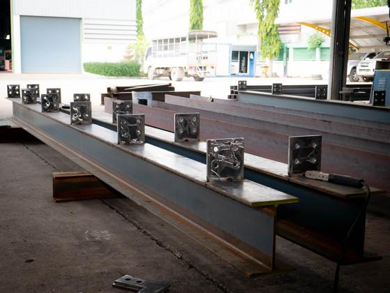งานโครงสร้างหลังคา Cooling Water