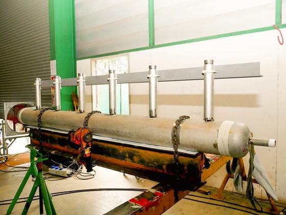 งาน Header Fabrication งานท่อ งานเชื่อม เป็นอีกจุดเด่นนึงของกงพัฒนาฯ      นะจะบอกให้ !!!