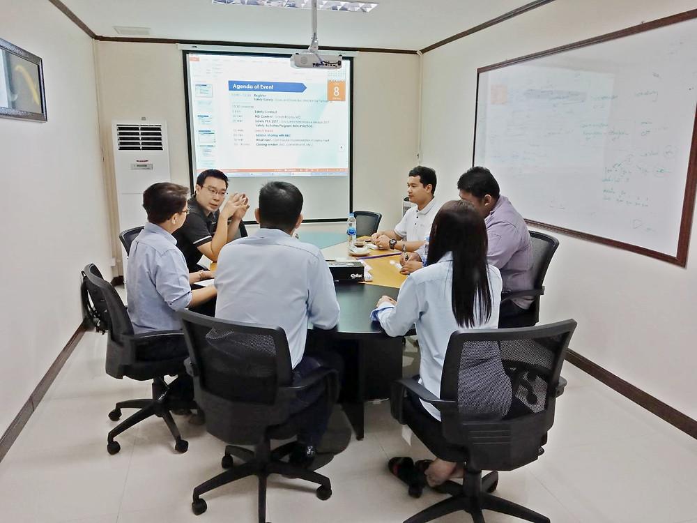 กงพัฒนาฯร่วมกับทีมงาน SCG Chemicals หารือการเตรียมความพร้อมในงาน CSM