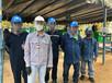 ทางหน่วยงาน Safety มีการจัดให้ใช้ Faceshield เพื่อป้องกันการติดต่อ