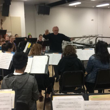 SFHS Concert Band with Dr Larry Gookin B Distinguished Professor and Emeritus Professor of Music at Central WAU in Ellensburg WA.jpg