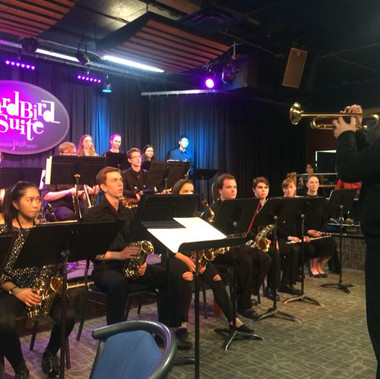 SFHS Jazz at Ed Cantando Apr 2018 with adjudicator Joel Gray from MacEwan University.jpg