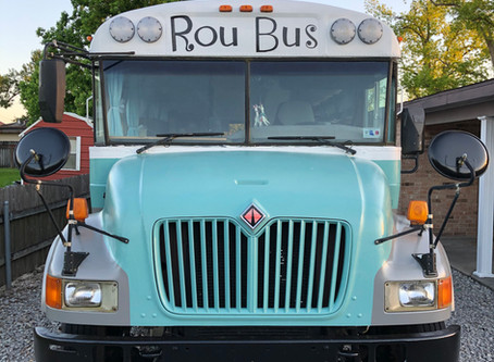 Rou Bus: Day 436- The Finishing Touches!
