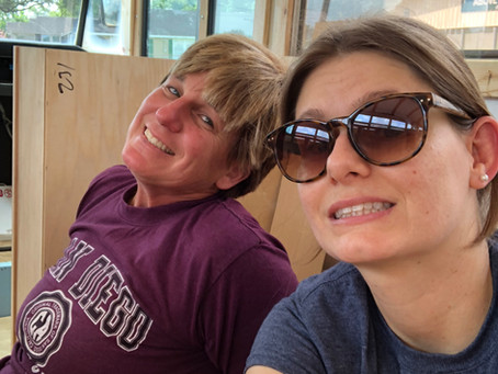 Rou Bus: Day 142- Moving right along