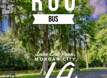 Rou Bus: The Maiden Voyage at Lake End Park in Morgan City, LA