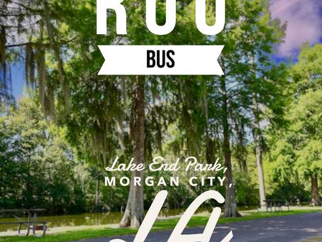 Rou Bus: The Maiden Voyage at Lake End Park in Morgan City, LA