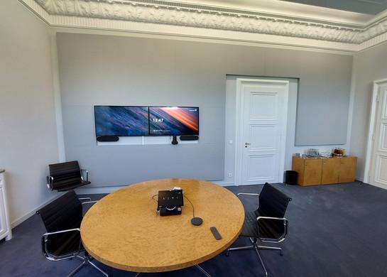 MUNICH RE Videokonferenzraum