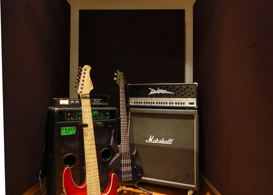 Prime Studio, kleine Aufnahmekabine