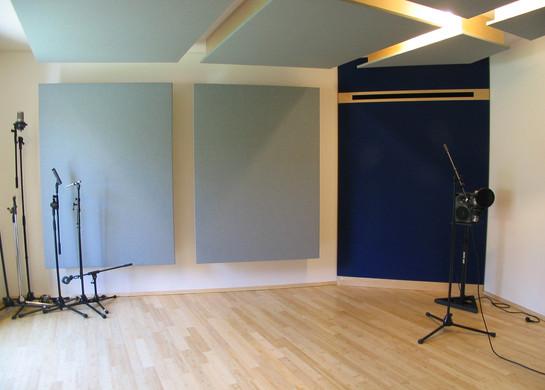 PROTON STUDIO kleiner Aufnahmeraum mit Klimamodul