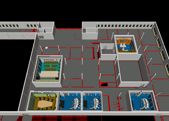 FX-CENTER CAD-Schnitt 3. OG