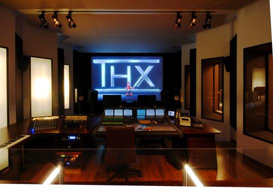 Prime Studio Tonregie, Blick auf Leinwand