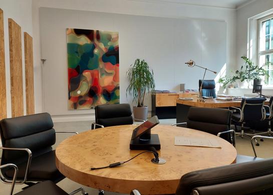 MUNICH RE  Videokonferenz- und Büroraum