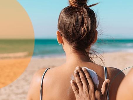 Dezembro Laranja. O filtro solar é a proteção que você sente na pele.