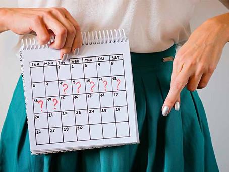 Menstruação irregular: quando procurar tratamento.