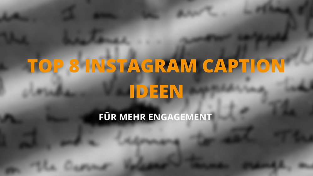 Instagram Bildunterschrift, Kommentar Ideen