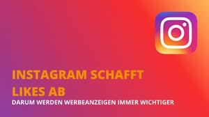 Die Foto Plattform Instagramm schafft die Like Anzahl bei Postings ab.