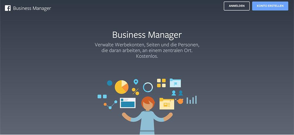 Business Manager von Facebook