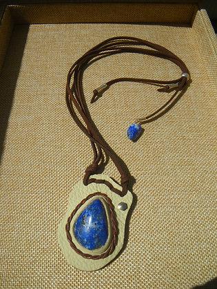 Talisman en Lapis Lazuli