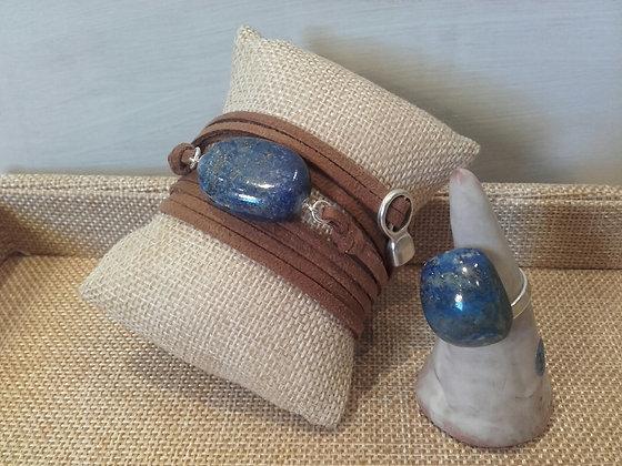 Manchette Lapis Lazuli