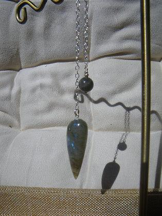 Pendule en Labradorite