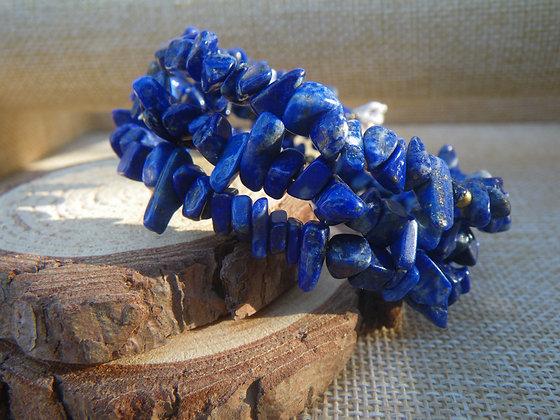 Manchette en Lapis Lazuli