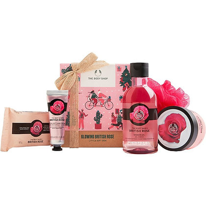 Glowing British Rose Gift Set