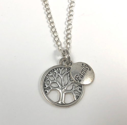 "Delicate Family Tree 18""Necklace"