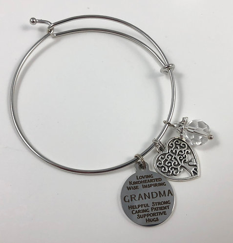 GRANDMA Expandable Bangle Bracelet