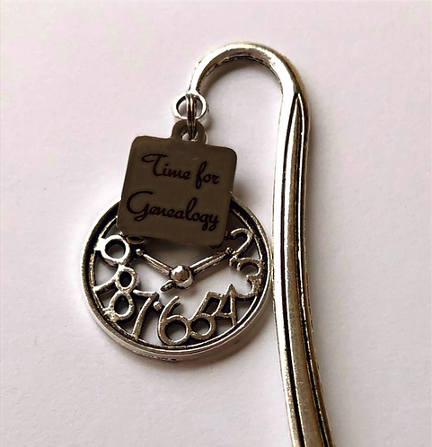 Time for Genealogy Bookmark