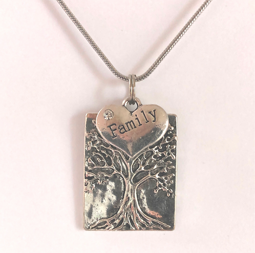 Layered Family Tree Necklace
